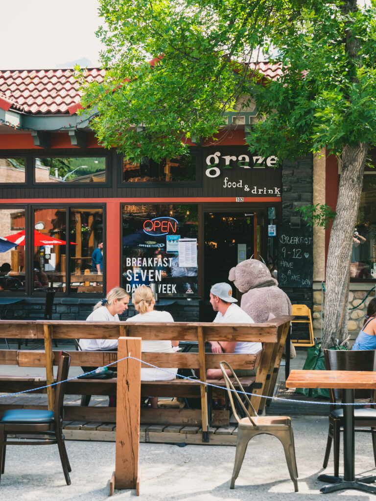 graze food and drink canmore
